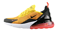 Кроссовки Nike Air Max 270 Flyknit Yellow Black Red