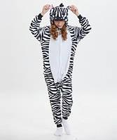 Пижама кигуруми для детей Зебра