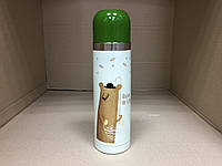 Термос питьевой Мишка 500 мл