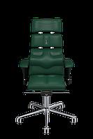Кресло офисное эргономичное KULIK SYSTEM PYRAMID Зеленый