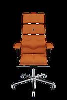 Кресло офисное эргономичное KULIK SYSTEM PYRAMID Оранжевый