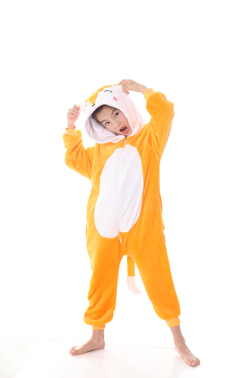 Пижама кигуруми для детей Лиса