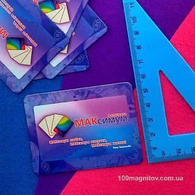 Рекламные магнитики для фестиваля. Размер 78х56 мм 2