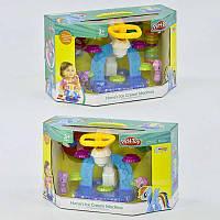 """Набор теста для лепки """"Пони"""" SM 8018 (12) 6 баночек теста, аксессуары, в коробке"""