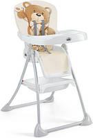 Стульчик для кормления CAM Mini Plus Бежевый с мишкой S450 - 219