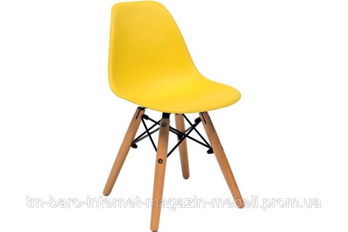 Стул детский Тауэр Вaby (Прайз), желтый (Eames)