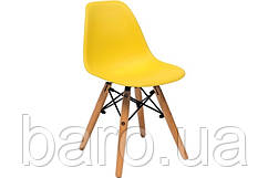 Стілець дитячий Тауер Вaby (Прайз), жовтий (Eames)