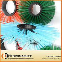 Проставочные дисковые щетки полипропиленовыес пластиковым (полипропиленовым) сердечником 120 на 550 мм