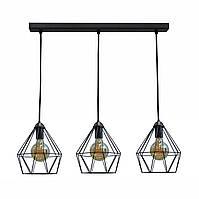 Светильник подвесной на три лампы люстра лофт NL 0537-3 MSK Electric