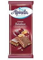 """""""Шоколад Alpinella 90g Арахис с изюмом'"""