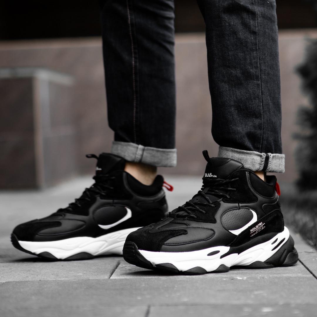 Кросівки черевики зимові чорні