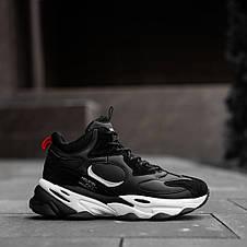 Кросівки черевики зимові чорні, фото 3