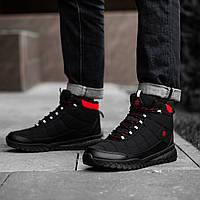 Черевики кросівки чоловічі зимові чорні