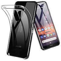 Чехол Case для Nokia 3.2 прозрачный силиконовый