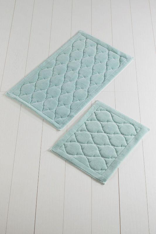Набор ковриков  для ванной комнаты ALESSIA Oval mint Cotton набор (2 предмета)
