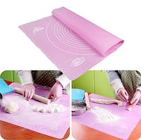 Коврик силиконовый для раскатки и выпечки 50х70 см с разметкой