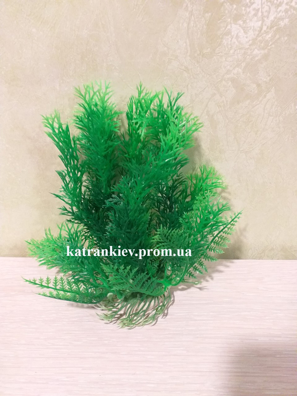 Штучне рослина в акваріум 14-17 см