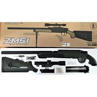 Снайперская винтовка на пульках (6мм) CYMA ZM 51G