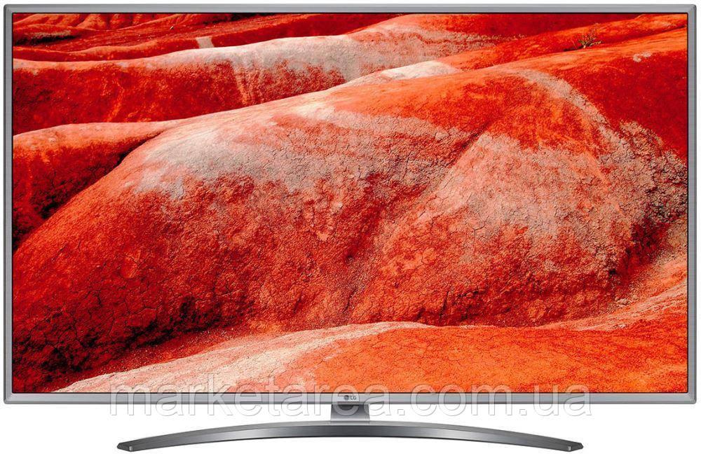 Телевизор лж 43 дюйма 4К со смарт тв тонкий, серый со смарт пультом LG 43UM7600