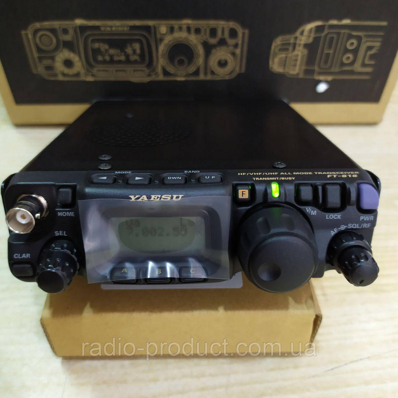 Yaesu FT-818ND, КВ + УКВ трансивер, радиостанция, фото 1