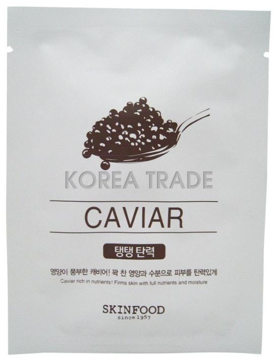 Омолаживающая тканевая маска для лица Skinfood Beauty in a Food Mask Sheet Икра