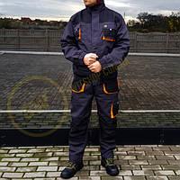 Спецодежда комплект рабочий костюм! FJB-LUX! Куртка и Полукомбинезон! Роба для работников!