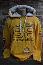 6024-Мужская толстовка Red Bridge/Жёлтая 2020