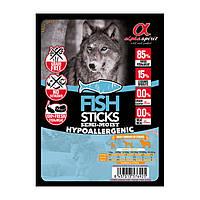 Напіввологі ласощі для собак ALPHA SPIRIT стік з рибою (x4 шт.) 40g
