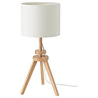 Настольная лампа IKEA LAUTERS белая (504.048.95), фото 1
