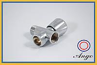 Кран вентильный для подключения стиральной машины 1/2*3/4*1/2 №21