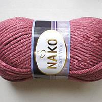 Пряжа Nako Sport Wool 327 сухая роза