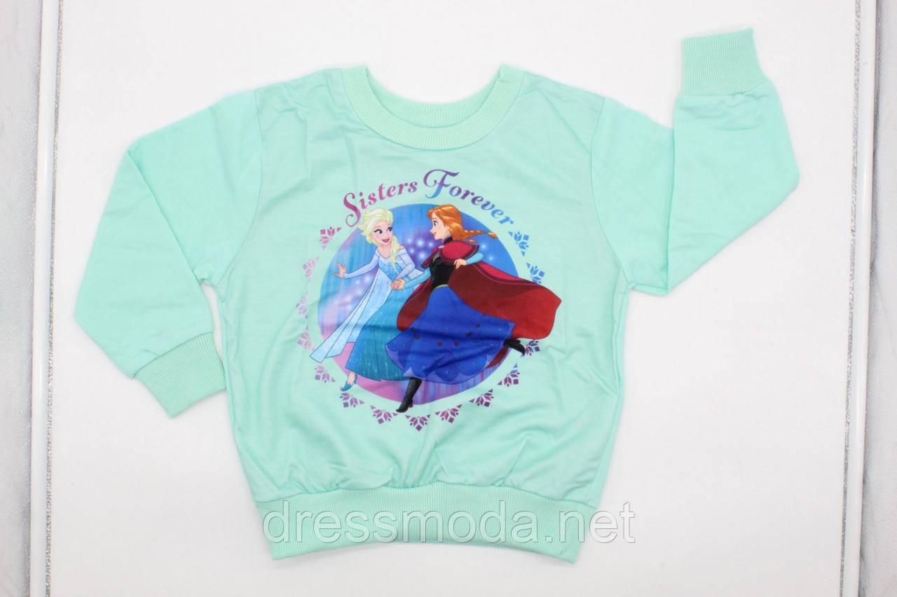 Свитшот для девочек Frozen 3-8 лет