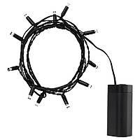 Гірлянда LED IKEA LEDLJUS чорний на батарейках (003.574.29)