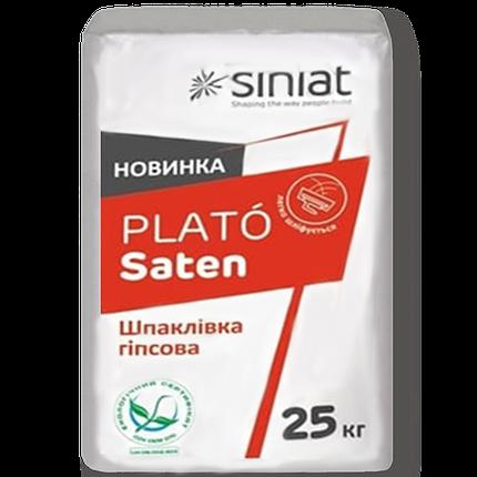 Финишная шпаклевка Plato Saten 25кг SINIAT, фото 2