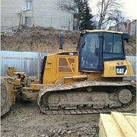 Планировка территории бульдозером Caterpillar D6K 15т