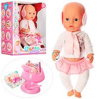 Кукла-пупс ДИВО YL1899Z-S-UA , интерактивная,42 см, 9 функций, пьет, писяет, фото 1