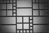 """Форма для изготовления плитки Блок дорожный """"Шоколадка"""" 75х50х8"""