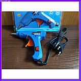 Пистолет для силиконового клея XL-E20, термопистолет диаметр 7 мм, фото 9