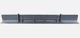 Накладка бампера MERCEDES ACRTOS MP2 средняя часть бампера МЕРСЕДЕС, фото 3