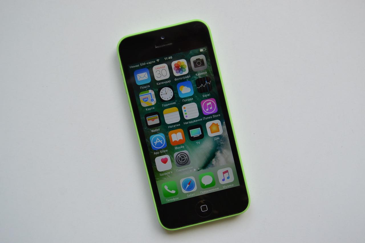 Apple Iphone 5c 8Gb Green Neverlock Оригинал!