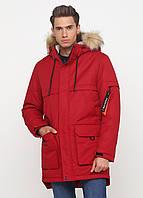 Мужская зимняя куртка Danstar KZ-195k (50) красная
