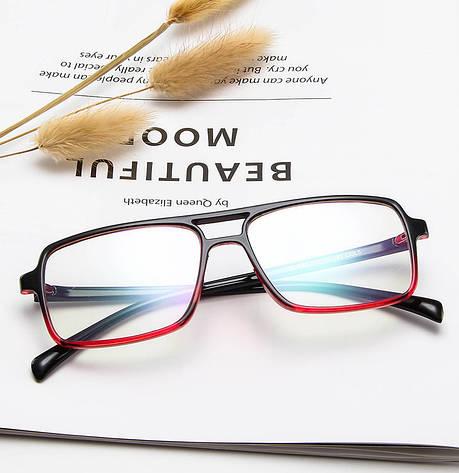 Kомп'ютерні окуляри Art Red | Имиджевые очки для компьютера, фото 2