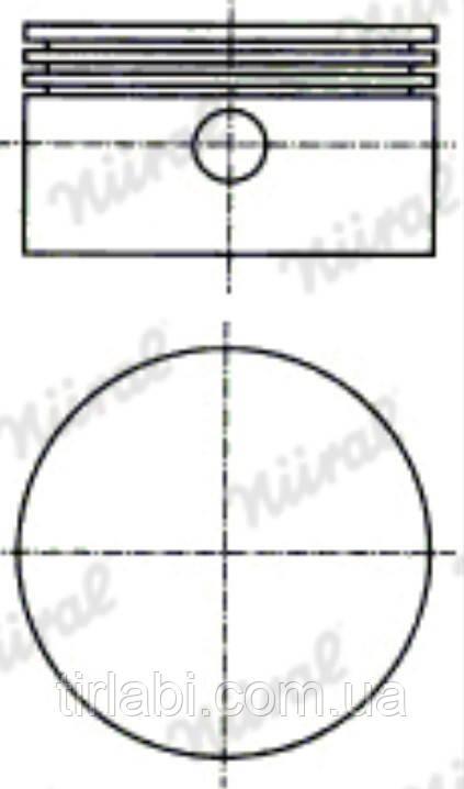 Поршень компрессора (D=85мм)