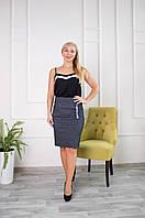 Женская юбка Верона серая