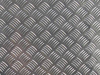 Лист алюминиевый рифлёный квинтет АД0 3,0х1000х2000мм и 3,0х1500х3000мм, фото 1