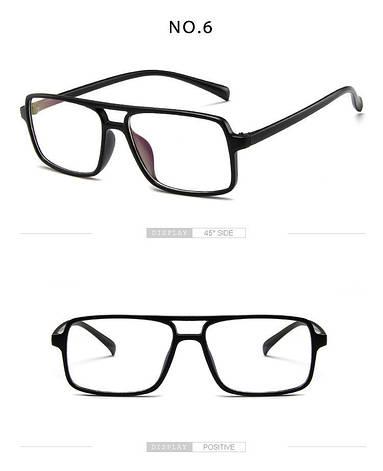 Kомп'ютерні окуляри Art Black | Имиджевые очки для компьютера, фото 2