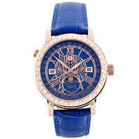 Часы наручные женские Высокого Качества Grand Complications Sky Moon BlueGoldBlue