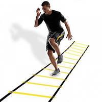 Координационная беговая дорожка лестница 6 метров, 12 ступеней, толщина 4мм