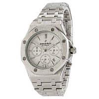 Часы наручные мужские Audemars Piguet Royal Oak Chronograph SilverWhite