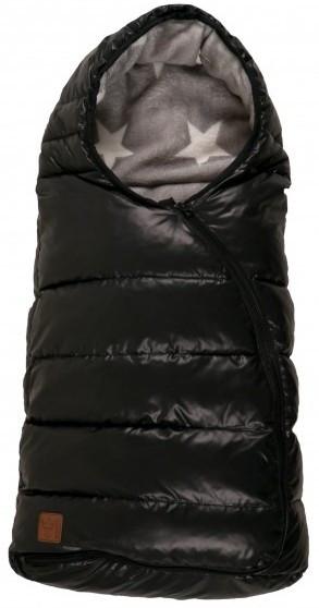 Kaiser Конверт тёплый флисовый Eskimo чёрный